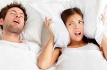 วิธีแก้ปัญหาสามีนอนกรน...ไม่ต้องทน ไม่ต้องแยกห้องนอน